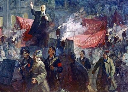 Ленин, революция, 7 ноября, 1917, ВОСР, октябрьская революция, большевики, СССР|Фото: