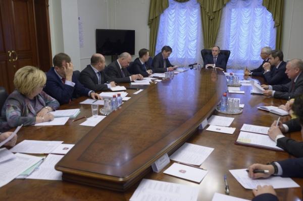 правительство Челябинской области Борис Дубровский совещание|Фото: gubernator74.ru