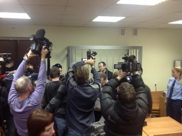 Ришад Гаджиев, суд, журналисты|Фото: СУ СКР по Свердловской области