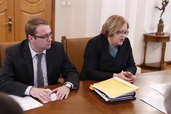 Мерзлякова, совещание|Фото: Департамент информационной политики губернатора Свердловской области