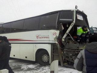 автобус ДТП поезд|Фото: ГУ МЧС РФ по Красноярскому краю