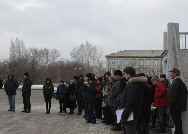 Митинг в Верхней Пышме против переименования, 22 ноября|Фото: КПРФ, Верхняя Пышма