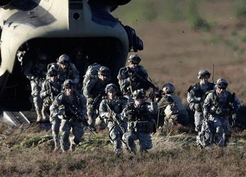 НАТО, NATO, альянс, Северо-Атлантический альянс, учения, Эстония, вертолет|Фото: НТВ