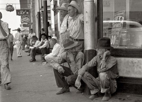США, великая депрессия, политика рузвельта, безработный, Америка|Фото: etoretro.ru