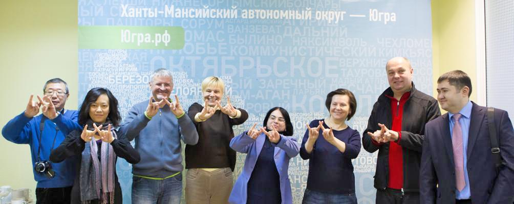 Наталья Комарова, пресс-тур, Сурдлимпийские игры|Фото: admhmao.ru