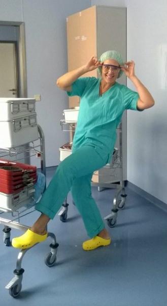 медсестра, селфи, операционная|Фото:https://vk.com/id49242624