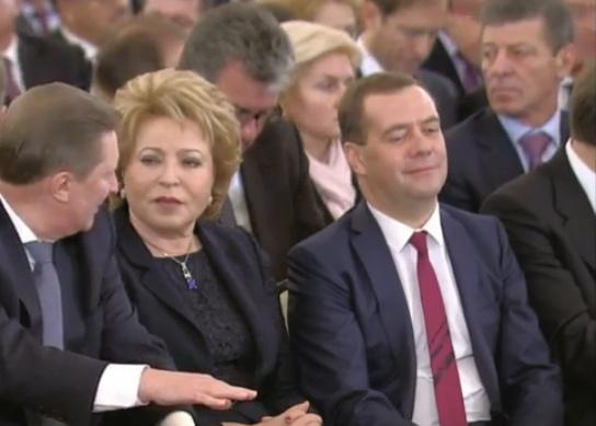 послание, путин, медведев, матвиенко, иванов|Фото: