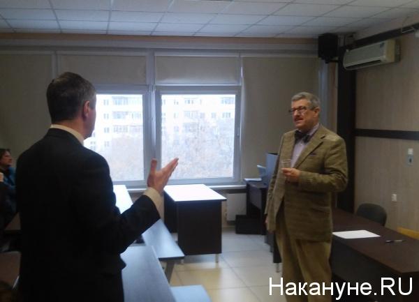профессор российской истории Брокского университета (Канада) Дэвид Схиммельпеннинк Ван дер Ойе|Фото: Накануне.RU