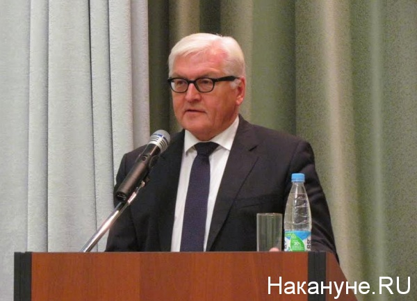 министр иностранных дел Германии Франк-Вальтер Штайнмайер|Фото: Накануне.RU