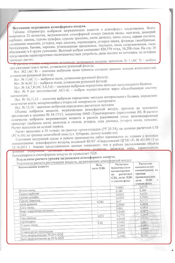 Документы НСК, Дегтярск, экспертное заключение Фото: