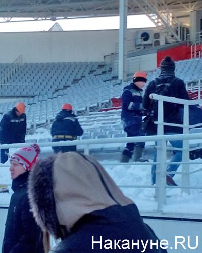 Екатеринбург, Центральный стадион, демонтаж |Фото: Накануне.RU