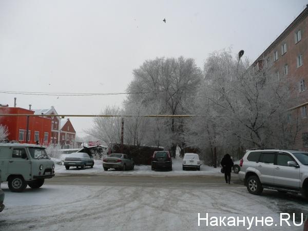Курган ул. К.Маркса зима Фото: Накануне.RU