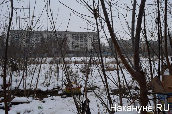 Курган, Пролетарская, 40 пустырь|Фото: Накануне.RU