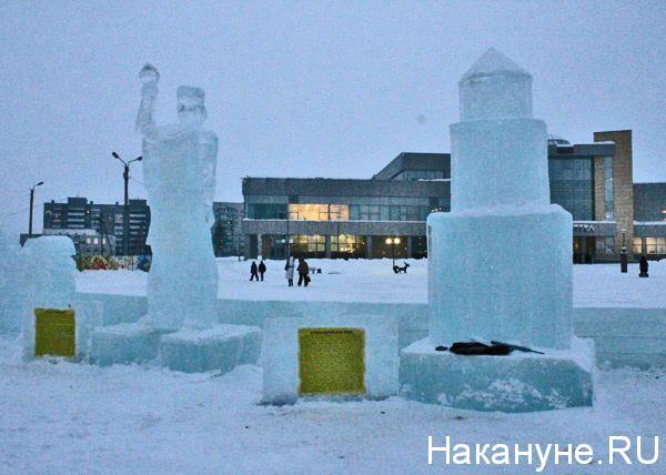 ледовый городок, Нефтеюганск|Фото: Накануне.RU