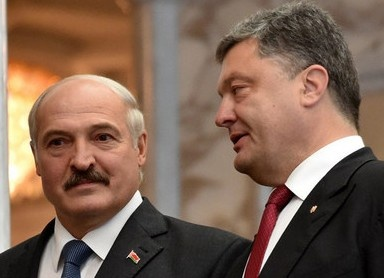 Лукашенко, Порошенко Фото: