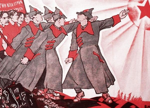 Большевики, красная армия, звезда, пролетариат, революция, ссср|Фото: Константин Моор, плакат