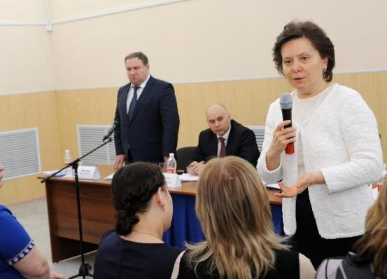 Наталья Комарова, Мегион|Фото: губернатор ХМАО