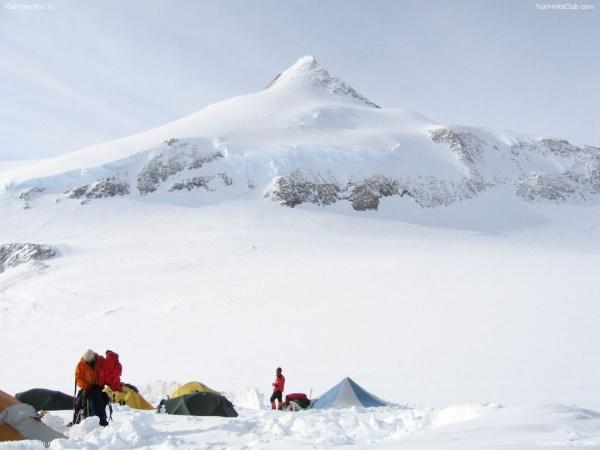 пик Винсон, Антарктида|Фото:gorets-media.ru
