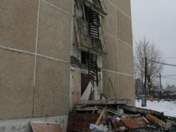 обрушение, эвакуационный выход, жилой дом|Фото:http://sredneuralsk.midural.ru/