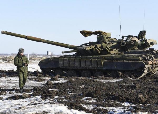 ополчение, Донбасс, ДНР, ЛНР, война, Новороссия, танк|Фото: