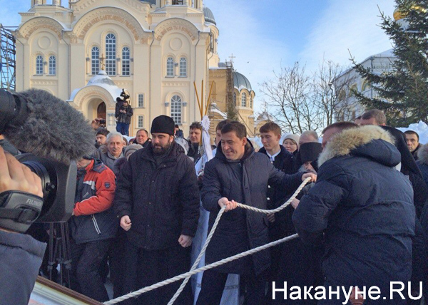 Крещение, Куйвашев, Ласточка|Фото: Накануне.RU