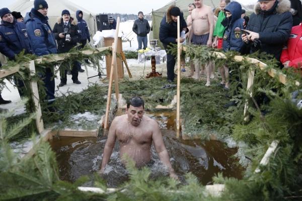 куйвашев, крещение, купание, иордань|Фото: