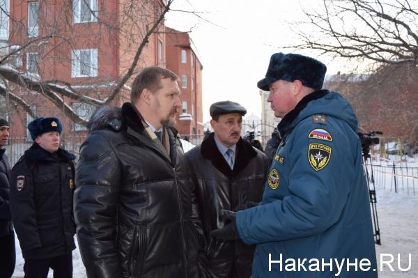 Курган Гоголя, 42 дом обрушение Сергей Путмин, Александр Поршань|Фото: Накануне.RU