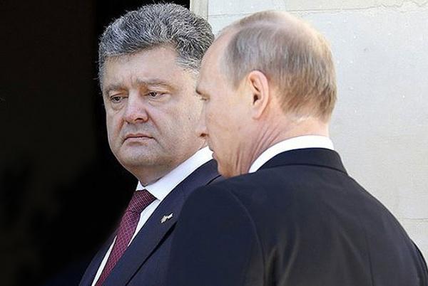путин порошенко|Фото: