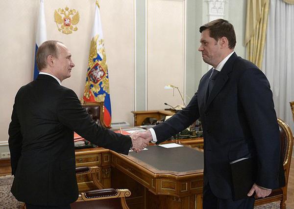 Владимир Путин, Алексей Мордашов|Фото: kremlin.ru