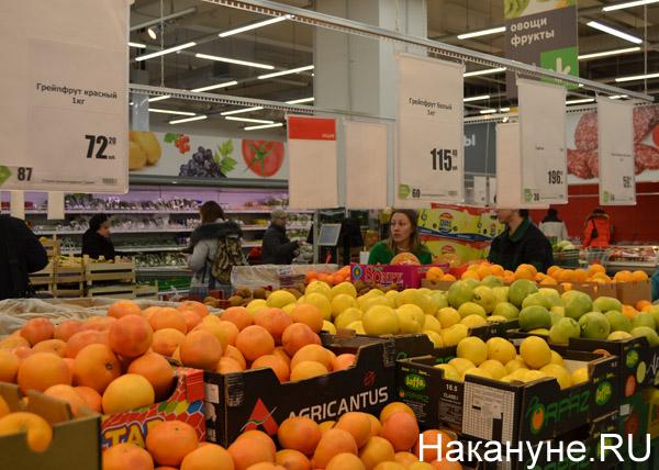 продукты, магазины, цены, фрукты, апельсины, яблоки|Фото: Накануне.RU