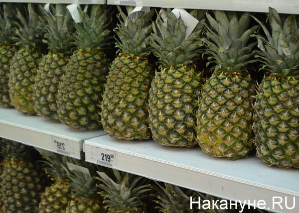 продукты, магазины, цены, ананасы|Фото: Накануне.RU