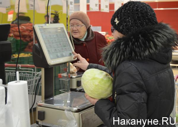 продукты, магазины, цены, капуста, покупатель|Фото: Накануне.RU