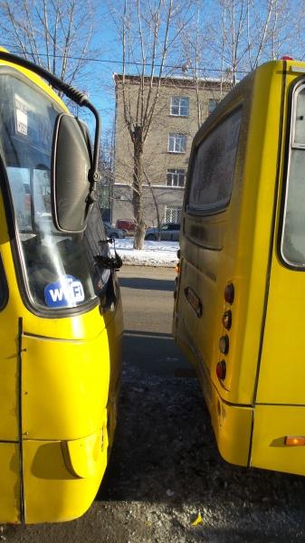 ДТП, авария, маршрутка, автобус|Фото: ГИБДД Екатеринбурга