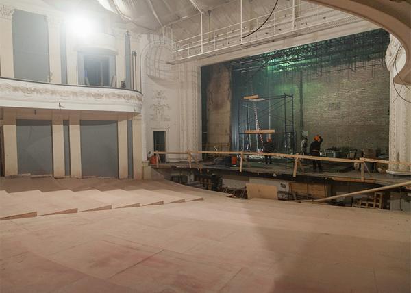 Нижний Тагил, Драмтеатр, реконструкция Фото: ntagil.org
