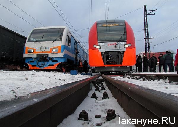 скоростной электропоезд ласточка|Фото: Накануне.ru