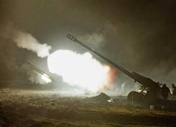 ополчение, ДНР, ЛНР, Новороссия, Дебальцево, ВСН, Донбасс, артиллерия Фото:
