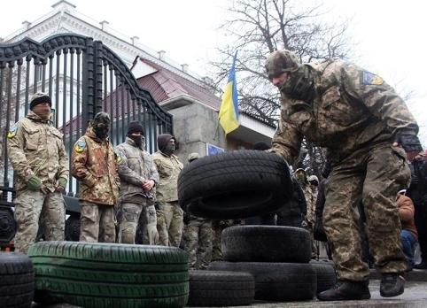 Айдар, Киев, украинская армия, батальон|Фото: