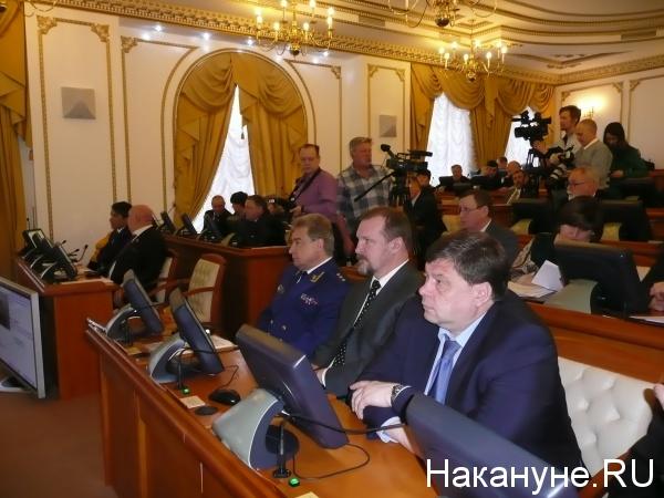 Курганская областная дума Юрий Пономарев заместитель генпрокурора РФ|Фото: Накануне.RU