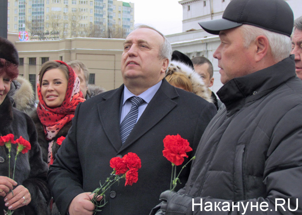 Клинцевич, Михалкова, возложение цветов|Фото: Накануне.RU