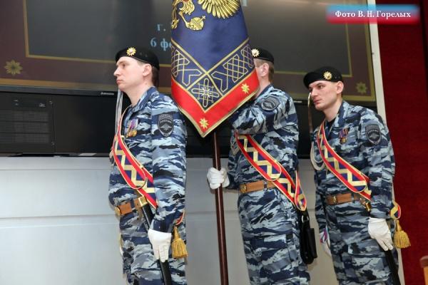 полиция, знамя, ГУ МВД по СО|Фото: ГУ МВД России по Свердловской области