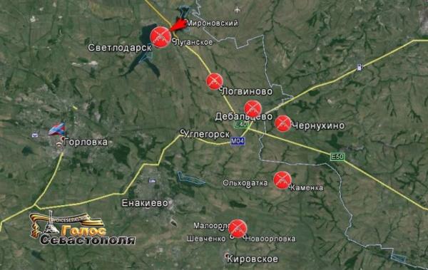 карта, Новороссия, Логвиново|Фото: