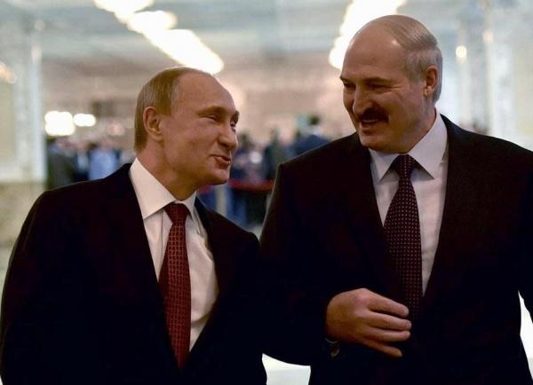 Путин, Лукашенко, Минск|Фото: