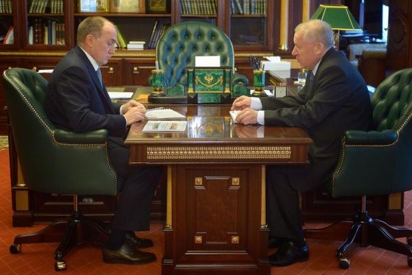 Борис Дубровский Евгений Тефтелев|Фото: gubernator74.ru