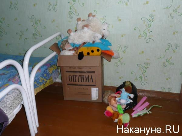 украинские беженцы Курган игрушки|Фото: Накануне.RU