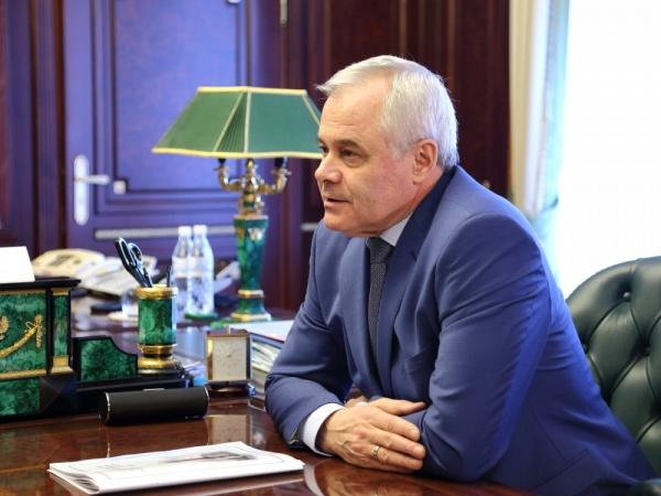 председатель Челябинского областного суда Сергей Минин|Фото: пресс-служба губернатора Челябинской области
