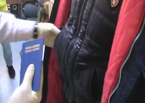 Изъятие наркотиков у украинца Фото: пресс-служба УФСКН ЯНАО