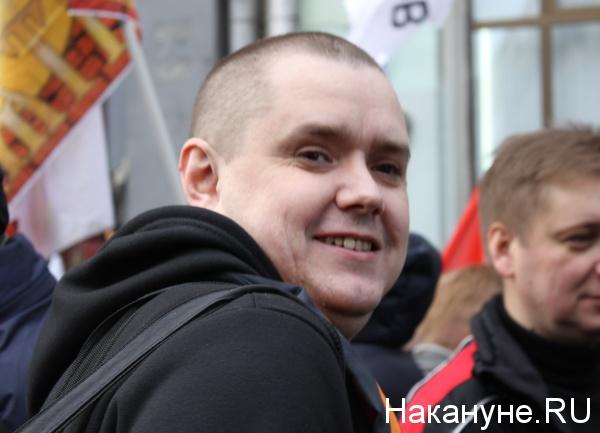 Антимайдан, марш, Сергей Колясников|Фото: Накануне.RU