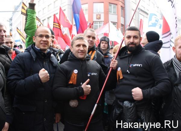 Александр Бречалов, Сергей Колясников, Евгений Артюх, Илья Белоус|Фото: Накануне.RU