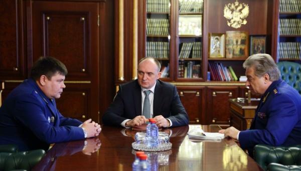 Борис Дубровский Александр Кондратьев Юрий Пономарев|Фото: gubernator74.ru