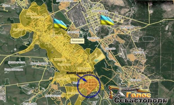карта, Новороссия|Фото:cassad.net